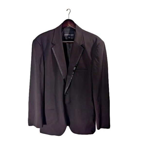 Kenneth Cole Other - Kenneth Cole Suit Jacket Black  Size XL